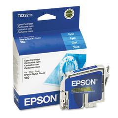 Epson T033220 (33) DURABrite Ink, Cyan