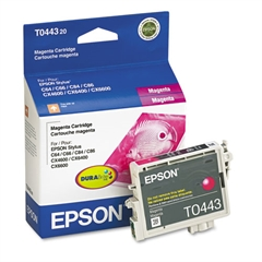Epson T044320 (44) DURABrite Ink, Magenta