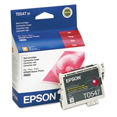 Epson T054720 (54) Ink, Red