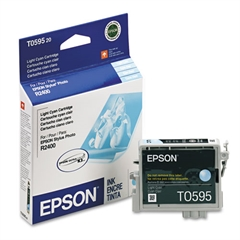 Epson T059520 (59) UltraChrome K3 Ink, Light Cyan