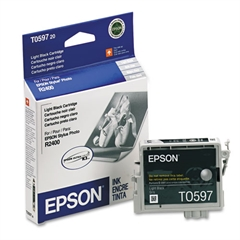 Epson T059720 (59) UltraChrome K3 Ink, Light Black