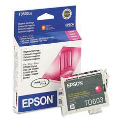 Epson T060320 (60) DURABrite Ink, Magenta