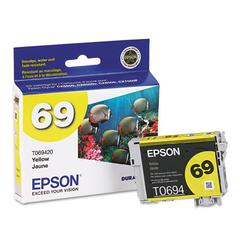 Epson T069420 (69) DURABrite Ink, Yellow