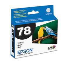 Epson T078120 (78) Claria Ink, Black
