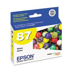 Epson T087420 (87) UltraChrome Hi-Gloss 2 Ink, Yellow