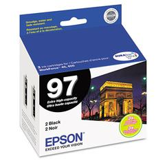 T097120D2 (97) Extra High-Yield Ink, Black, 2/PK