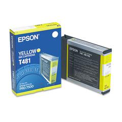 Epson T481011 (T481) Ink, Yellow