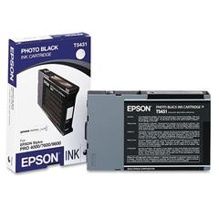 Epson T543100 (T5431) Ink, Black