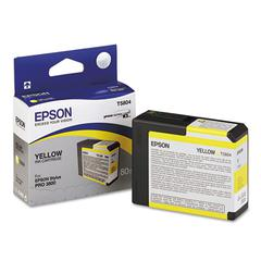 Epson T580400 UltraChrome K3 Ink, Yellow