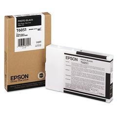 Epson T605100 (60) Ink, Photo Black