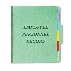 Personnel Folders, 1/3 Cut Top Tab, Letter, Green