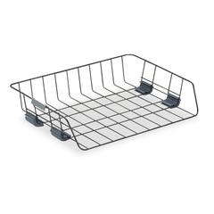 Fellowes Side-Load Wire Stacking Letter Tray, Wire, Black
