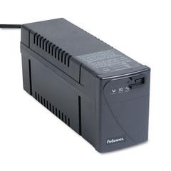 Fellowes Line Interactive w/AVR UPS Battery Backup System, Four-Outlet 500 Volt-Amps