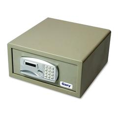 Gary by FireKing Laptop Safe, 1.2 capacity, 15-3/4w x 16-5/8d x 7-9/16h, Light Gray