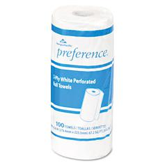 Perforated Paper Towel, 8 4/5 x 11, White, 100/Roll, 30 Rolls/Carton