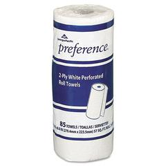 Perforated Paper Towel Roll, 8 4/5 x 11, White, 85/Roll, 30 Rolls/Carton