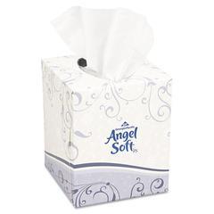 Premium Facial Tissue, White, Cube Box, 96 Sheets/Box
