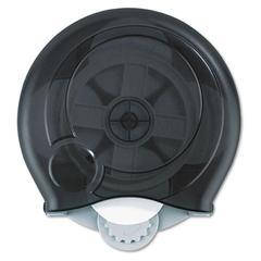 High Capacity Bathroom Tissue Dispenser, 14 x 5 1/2 x 13, Translucent Smoke