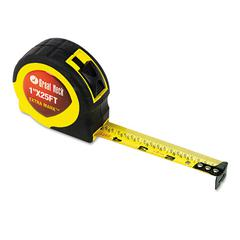 "Great Neck ExtraMark Power Tape, 1"" x 25ft, Steel, Yellow/Black"