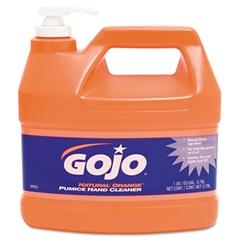 GOJO Natural Orange Pumice Hand Cleaner, Orange Citrus, 1gal Pump, 4/Carton