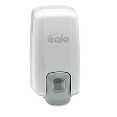 "GOJO NXT Lotion Soap Dispenser, 1000mL, 5""w x 10""d x 3 7/8""h, Dove Gray"