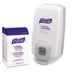 PURELL NXT SPACE SAVER Hand Sanitizer Dispenser & Refill
