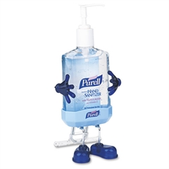 PURELL Pal Instant Hand Sanitizer Desktop Dispenser w/8oz Pump Bottle, 3wx3 1/2dx8 1/2h
