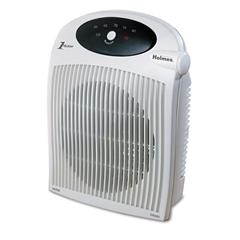 Holmes 1500W Heater Fan w/ALCI Heater, Plastic Case, 10 1/4 x 6 1/2 x 12 1/2, White