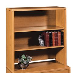 HON 10500 Series Bookcase Hutch, 36w x 14-5/8d x 37-1/8h, Bourbon Cherry