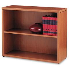 10500 Series Laminate Bookcase, Two-Shelf, 36 x 13-1/8 x 29-5/8, Bourbon Cherry