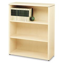 10500 Series Laminate Bookcase, Three-Shelf, 36 x 13-1/8 x 43-3/8, Natural Maple