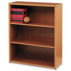 10500 Series Laminate Three-Shelf Bookcase, 36 x 13-1/8 x 43-3/8, Bourbon Cherry