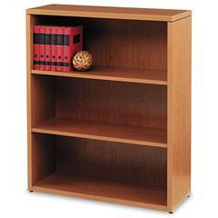 HON 10500 Series Laminate Three-Shelf Bookcase, 36 x 13-1/8 x 43-3/8, Bourbon Cherry