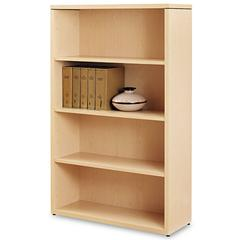 10500 Series Laminate Bookcase, Four-Shelf, 36 x 13-1/8 x 57-1/8, Natural Maple