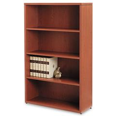 10500 Series Laminate Bookcase, Four-Shelf, 36 x 13-1/8 x 57-1/8, Henna Cherry