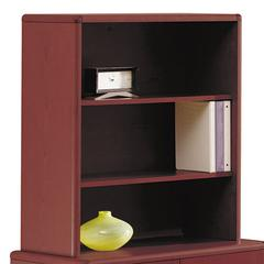 10700 Series Bookcase Hutch, 32 5/8w x 14 5/8d x 37 1/8h, Mahogany