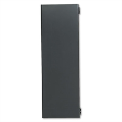 "38000 Series Hutch Flipper Doors For 48""w Open Shelf, 48w x 15h, Charcoal"