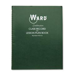 Combination Record & Plan Book, 9-10 Weeks, 6 Periods/Day, 11 x 8-1/2