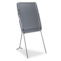 Iceberg Portable Flipchart Easel, Resin, 35w x 30d x 73h, Charcoal