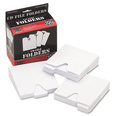 Vaultz CD File Folders, 100/Pack