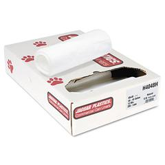 Jaguar Plastics Heavy Grade Can Liners, 40-45gal, 13 Micron, 40 x 48, Natural, 200/Carton