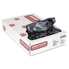 Low-Density Can Liners, 12-16 Gallon, .35mil, Black, 500/Carton
