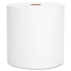 """Scott Hard Roll Towels, White, 8"""" x 800ft, 12 Rolls/Carton"""