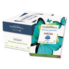 Premium Laser Print Paper, 98 Bright, 24lb, 11 x 17, White, 500/RM