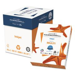 Recycled Inkjet Paper, 96 Bright, 24lb, 8-1/2 x 11, White, 500 Sheets/Ream