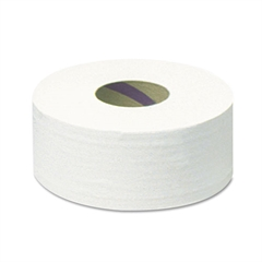 "Scott Tradition JRT Jumbo Roll Bathroom Tissue, 2-Ply, 12"" dia, 2000ft, 6 Rolls/Carton"