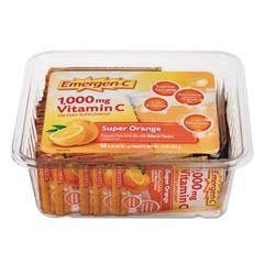 Immune Defense Drink Mix, Super Orange, .3oz Packet, 50/Pack