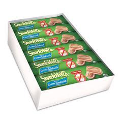 SnackWell's Cookies, Vanilla Creme, 1.7 oz Pack, 48/Carton