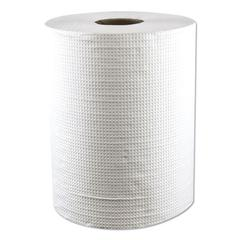 "Hardwound Roll Towels, Paper, White, 7.8"" x 600 ft, 12 Rolls/Carton"