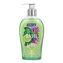 Premium Liquid Hand Soap, Basil & Lime, 13 oz